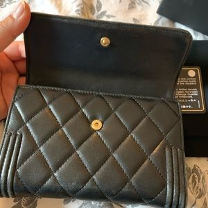 CHANEL Bags - Chanel Le boy wallet